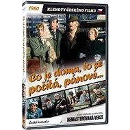 Co je doma, to se počítá, pánové... - edice KLENOTY ČESKÉHO FILMU (remasterovaná verze) - DVD - Film na DVD