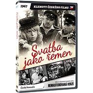 Svatba jako řemen - edice KLENOTY ČESKÉHO FILMU (remasterovaná verze) - DVD - Film na DVD