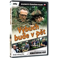 Výbuch bude v pět - edice KLENOTY ČESKÉHO FILMU (remasterovaná verze) - DVD - Film na DVD