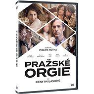 Pražské orgie - DVD - Film na DVD