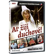 Long live the ghosts! - CZECH FILM JEWELERY edition (remastered version) - DVD - DVD Movies