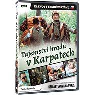 Tajemství hradu v Karpatech - edice KLENOTY ČESKÉHO FILMU (remasterovaná verze) - DVD - Film na DVD