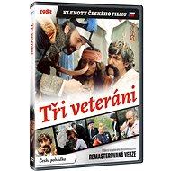 Tři veteráni (remasterovaná verze) - DVD - Film na DVD