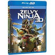Želvy Ninja 3D+2D (2 disky) - Blu-ray