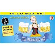 Hudební CD  České sprostonárodní písně (10x CD) - CD