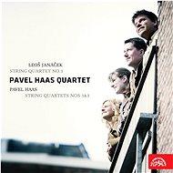 Pavel Haas Quartet: Janáček: Smyčcový kvartet č.1 - Haas: Smyčcový kvartet č. 1 a 3 - CD - Hudební CD