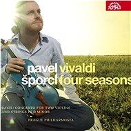 Šporcl Pavel  & Pražská komorní filharmonie: Vivaldi: Čtvero ročních dob - Bach: Koncert pro dvoje h - Hudební CD