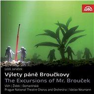 Orchestr Národního divadla v Praze, Neumann Václav: Výlety pana Broučka. Opera o 2 částech (2x CD) - - Hudební CD