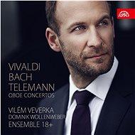 Veverka Vilém, Ensemble 18+: Vivaldi, Bach, Telemann: Hobojové koncerty - CD - Hudební CD