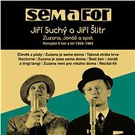 Semafor, Suchý Jiří, Šlitr Jiř: Komplet 9 her z let 1959-1964 (15x CD) - CD - Hudební CD