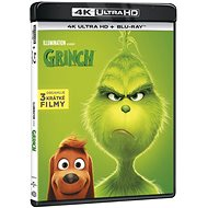 Grinch (2 disky) - Blu-ray + 4K Ultra HD - Film na Blu-ray