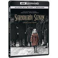 Film na Blu-ray Schindlerův seznam - Výroční edice 25 let (3 disky) - Blu-ray + 4K Ultra HD