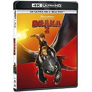 Jak vycvičit draka 2 (2 disky) - Blu-ray + 4K Ultra HD - Film na Blu-ray