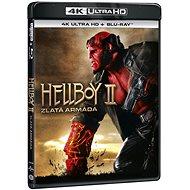 Hellboy 2: Zlatá armáda (2 disky) - Blu-ray + 4K Ultra HD - Film na Blu-ray