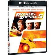 Fast and Furious 5 (2 discs) - Blu-ray + 4K Ultra HD - Blu-ray Movies