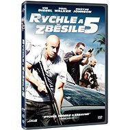 Film na DVD Rychle a zběsile 5 - DVD