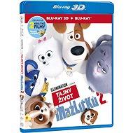 Tajný život mazlíčků 2 3D+2D (2 disky) - Blu-ray - Film na Blu-ray