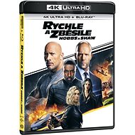 Fast and Furious: Hobbs and Shaw - (2 discs) - Blu-ray + 4K Ultra HD - Blu-ray Movies