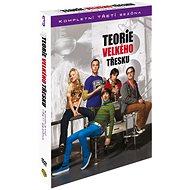 Teorie velkého třesku / The Big Bang Theory - Kompletní 3.série (3DVD) - DVD - Film na DVD