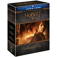 The Hobbit - Complete Collection 1. -3., Extended Version 2D + 3D Version (15BD) - Blu-ray - Blu-ray Movies