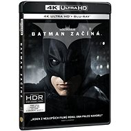 Batman začíná (3 disky) - Blu-ray + 4K Ultra HD - Film na Blu-ray