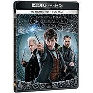 Fantastická zvířata: Grindelwaldovy zločiny (2 disky) - Blu-ray + 4K Ultra HD - Film na Blu-ray