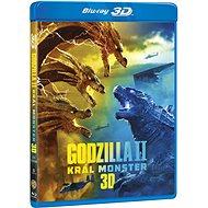 Godzilla II Král monster 3D+2D (2 disky) - Blu-ray - Film na Blu-ray