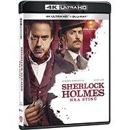 Sherlock Holmes: Hra stínů (2 disky) - Blu-ray + 4K Ultra HD - Film na Blu-ray