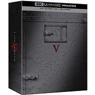 V as Vendetta: Special Edition (2 discs) - Blu-ray + 4K Ultra HD - Blu-ray Movies