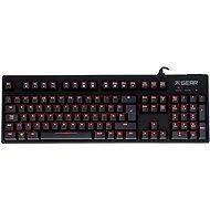Fnatic Gear Rush Red (UK) - Herní klávesnice
