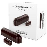 FIBARO Senzor na okna a dveře 2 hnědý - Senzor na dveře a okna