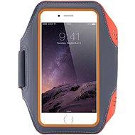 Mobilly Sportovní pouzdro na ruku oranžové - Pouzdro na mobil