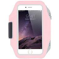 Mobilly Sportovní neoprenové pouzdro na ruku růžové - Pouzdro na mobil