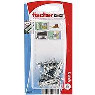 fischer GKM Metal Dowel for Plasterboard + Screw - Fastening Material Set