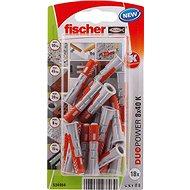 fischer DUOPOWER 8 x 40 Universal Dowel - Fastening Material Set