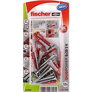 fischer DUOPOWER 6 x 30 Universal Dowel + Screw - Fastening Material Set