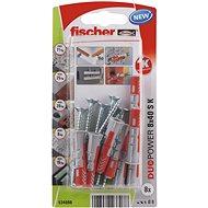 fischer DUOPOWER 8 x 40 Universal Dowel + Screw - Fastening Material Set
