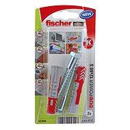 fischer DUOPOWER 12 x 60 Universal Dowel + Screw - Fastening Material Set