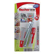 fischer DUOPOWER 14 x 70 Universal Dowel + Screw - Fastening Material Set
