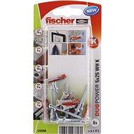 fischer DUOPOWER 5 x 25 Universal Dowel + Angle Hook - Fastening Material Set