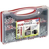 fischer DUOPOWER 5, 6, 8 and 10 Universal Dowel Set + REDBOX Screws - Fastening Material Set