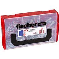 fischer DUOPOWER 6, 8 and 10 Universal Dowel Set + FIXTAINER Screws - Fastening Material Set