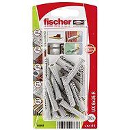 fischer Universal Plug UX 6 x 35 R with Rim - Fastening Material Set
