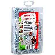 fischer UX Universal Knotting Dowel Set with Screw and Hook - Fastening Material Set