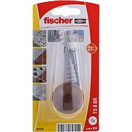 fischer TS zarážka dveří hnědá - Sada spojovacího materiálu