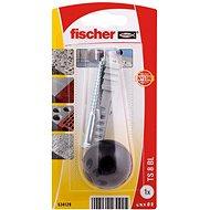 fischer TS zarážka dveří černá - Sada spojovacího materiálu