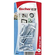 fischer Metal Cavity Fixing HM 5 x 37 H with Angle Hook SB-card - Fastening Material Set