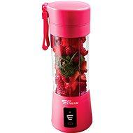 FitStream E1 růžový, USB nabíjení - Stolní mixér