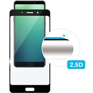 FIXED Full-Cover pro Nokia 8 černé - Ochranné sklo