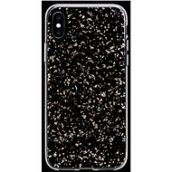 Bling My Thing Milky Way Starry Night pro Apple iPhone X/XS transparentní - Kryt na mobil